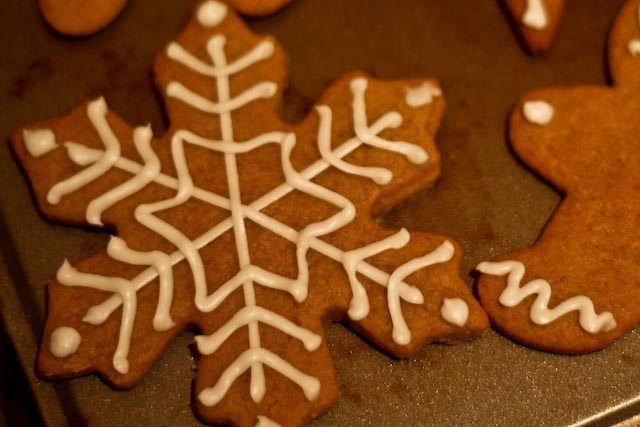 Cookies for Santa: Orange Gingerbread Cookies   theeverydaykitchen